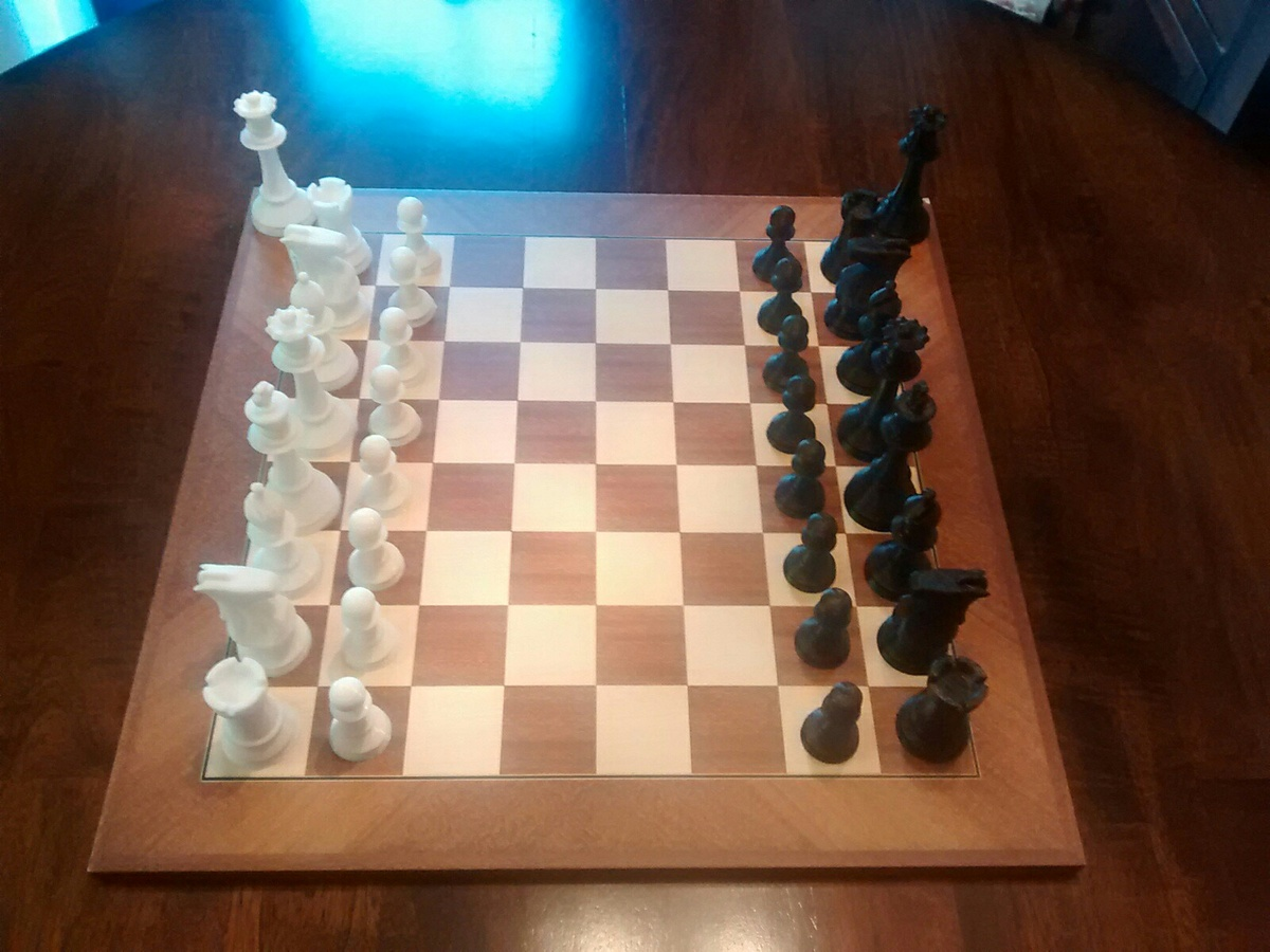 Collectors Chess Sets 3d Printed Chess Set Collectors Weekly