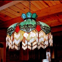 Show & Tell - Antique Slag Glass Lamps | Collectors Weekly
