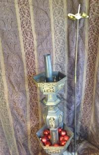 Antique Oriental Floor Lamp   Collectors Weekly