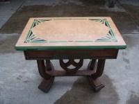 1930`s Porcelain enamel top kitchen(?) table | Collectors ...