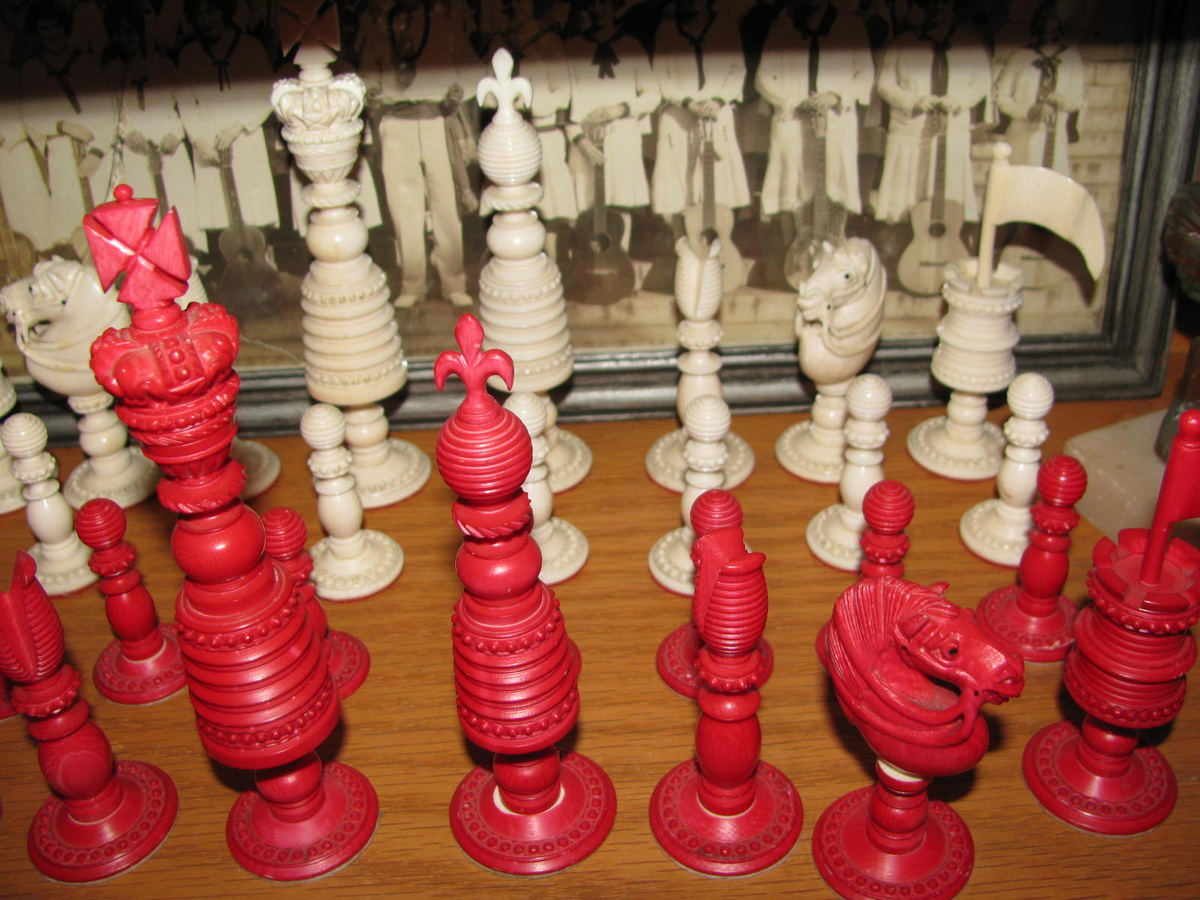 Collectors Chess Sets Vintage Ivory Chess Set Seeking Info Collectors Weekly