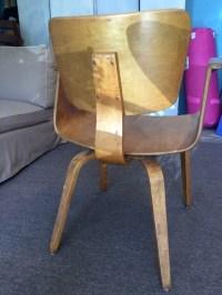 Thonet Bentwood Walnut Chair Mid Century Danish Modern ...