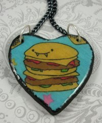 Foodista | 10 Adorable Burger Jewelry Designs