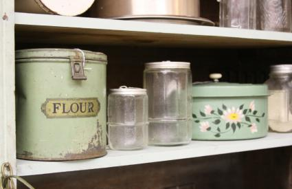 Vintage Kitchen Canisters Lovetoknow