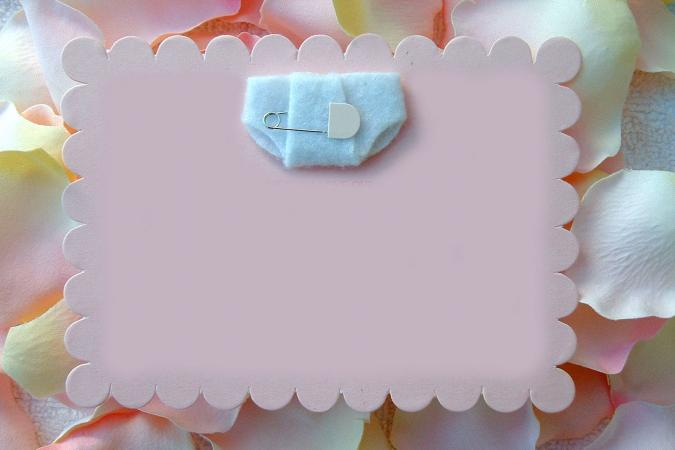 Template for Diaper Invitation - diaper invitation