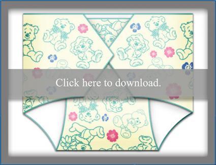 Template for Diaper Invitation LoveToKnow
