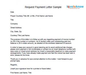 example letter requesting past due payment samples tips to write letter for requesting payment lettertocustomerrequestingpayment request