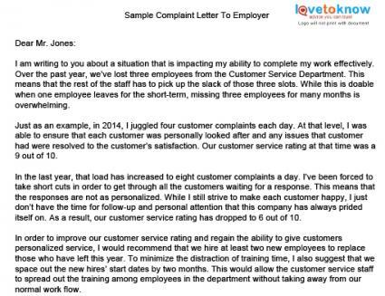 Complaint Letters Many Consumers Do Complaint Letters Complaint