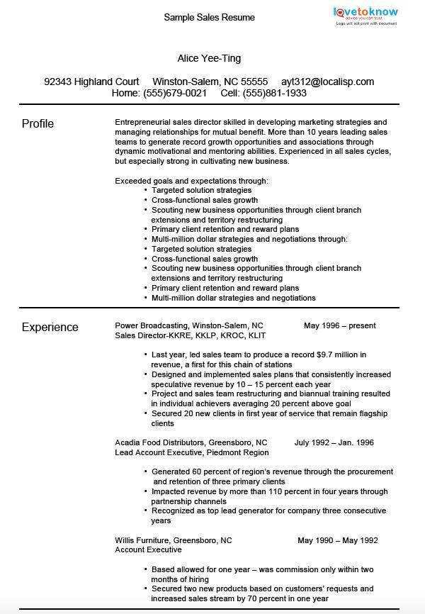 Using Resume Keywords Effectively - cold calling resume