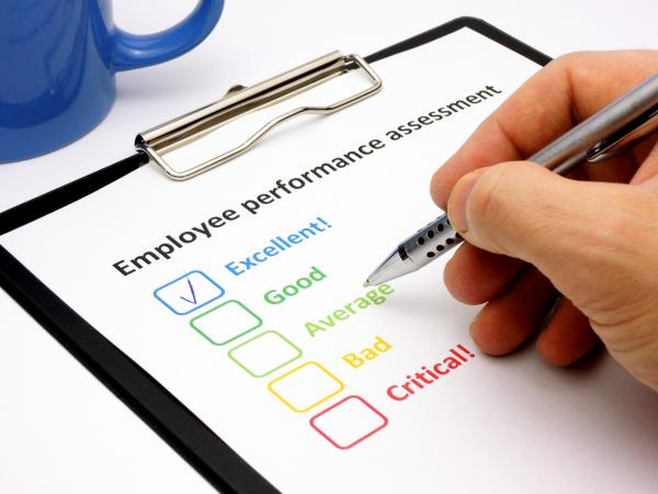 Free Examples of Employee Evaluations LoveToKnow - employee review form