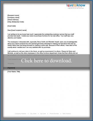Sample Letters of Appreciation LoveToKnow