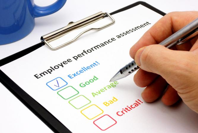 Free Examples of Employee Evaluations - employee evaluation template free