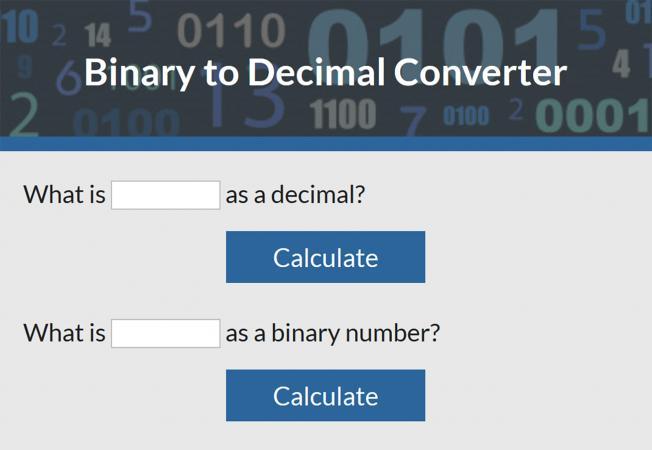 Binary to Decimal Converter LoveToKnow