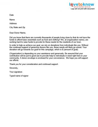 33 Best Images About Donation Letters Thank You On Pinterest Non