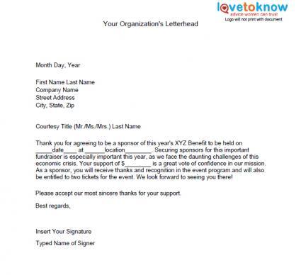 cover letter for non profit