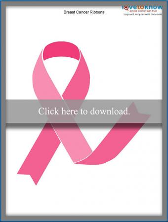 Printable Breast Cancer Ribbons LoveToKnow