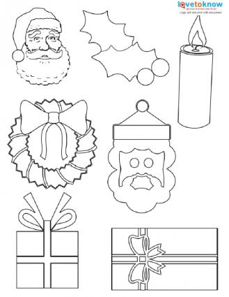 Christmas Shapes to Print LoveToKnow