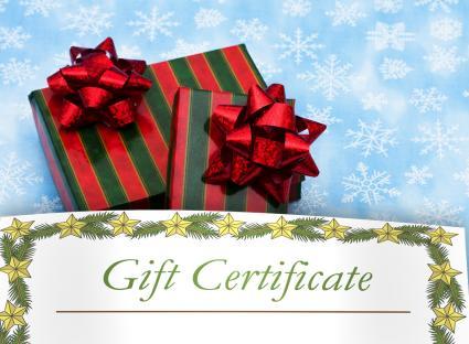 Printable Christmas Gift Certificates - printable christmas certificates