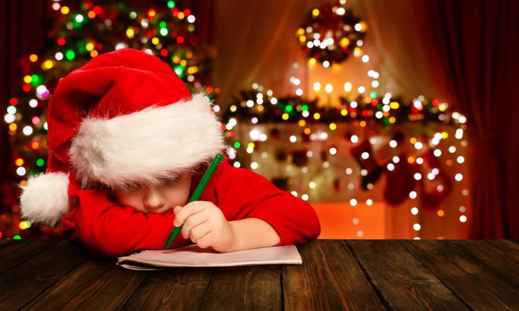Christmas Wish List Template for Kids