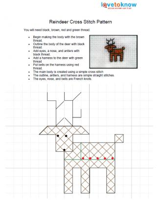 Christmas Cross Stitch Designs LoveToKnow