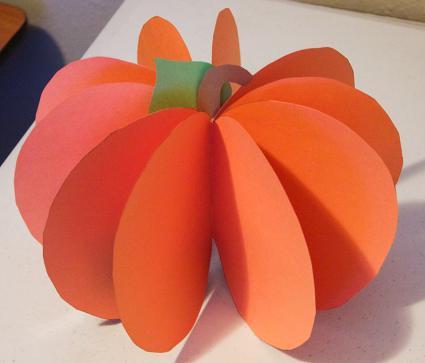5th Grade 3 D Paper Pumpkin - Lessons - Tes Teach