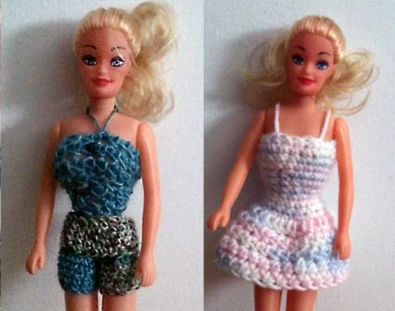 Free Crochet Barbie Clothing Patterns LoveToKnow