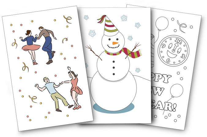 New Years Card Designs LoveToKnow
