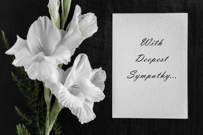 19 Comforting Sympathy Messages for Funeral Flowers LoveToKnow