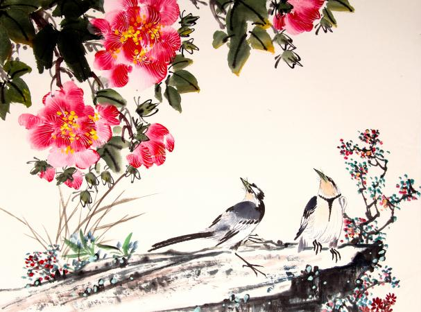 Cute Wallpaper Black And White Birds Feng Shui Art For Bedrooms Lovetoknow