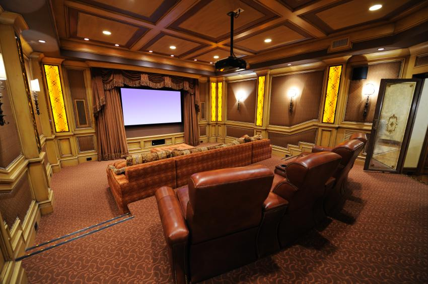 Furniture Ideas for a Media Room [Slideshow]