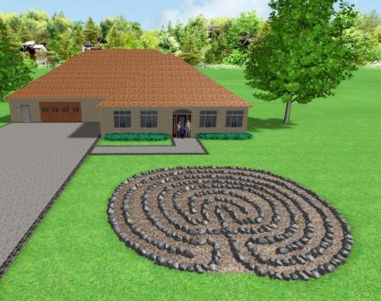Garden Labyrinth Designs - labyrinth garden design