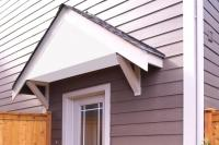 How to Build a Wood Awning Over a Door | LoveToKnow