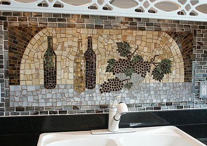 Wine and Grape Themed Kitchen Ideas - wine themed kitchen ideas