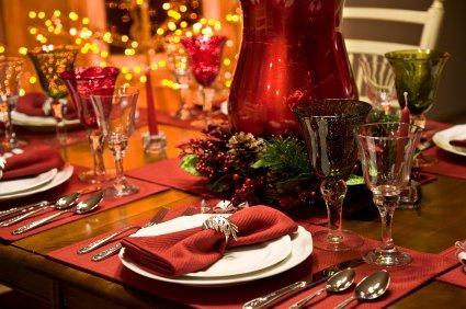 Christmas Table Settings Lovetoknow