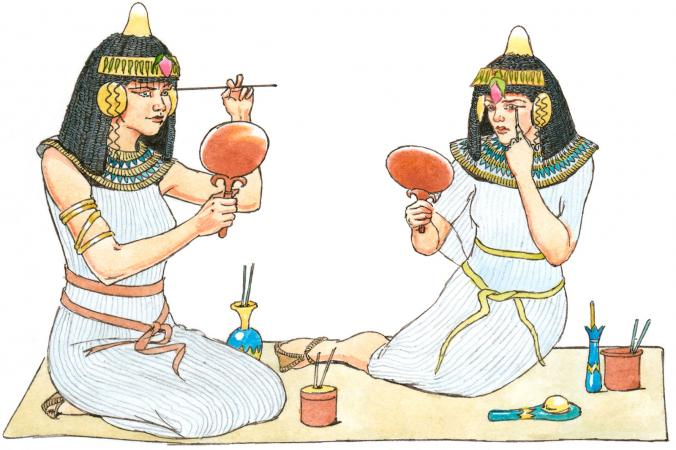 History of Makeup in Egypt - history of makeup