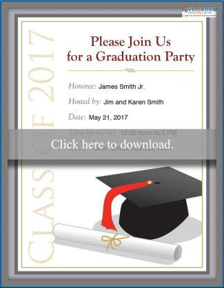 College Graduation Party Invitation Options LoveToKnow - free printable invitations graduation