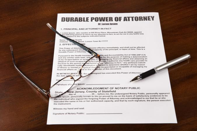 Free Downloadable Durable General Power of Attorney Form LoveToKnow - general power of attorney forms