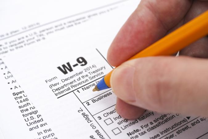 What Is a W-9 Tax Form? - tax form