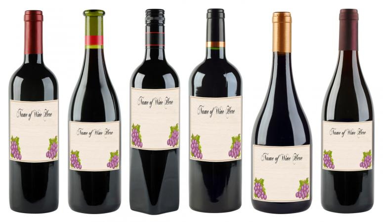 6 Free Printable Wine Labels You Can Customize