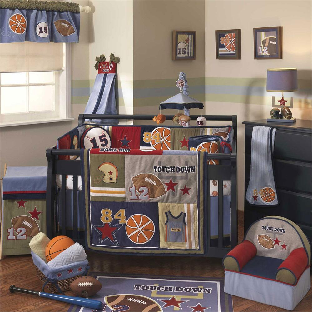 Baby Boy Bedding Sets Sports Sport Information In The Word