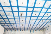 Checkered Ceiling Tutorial