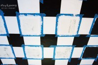 Checkered Ceiling Tutorial | Stacy Risenmay