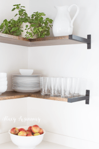 Open Shelves in The Kitchen | Stacy Risenmay