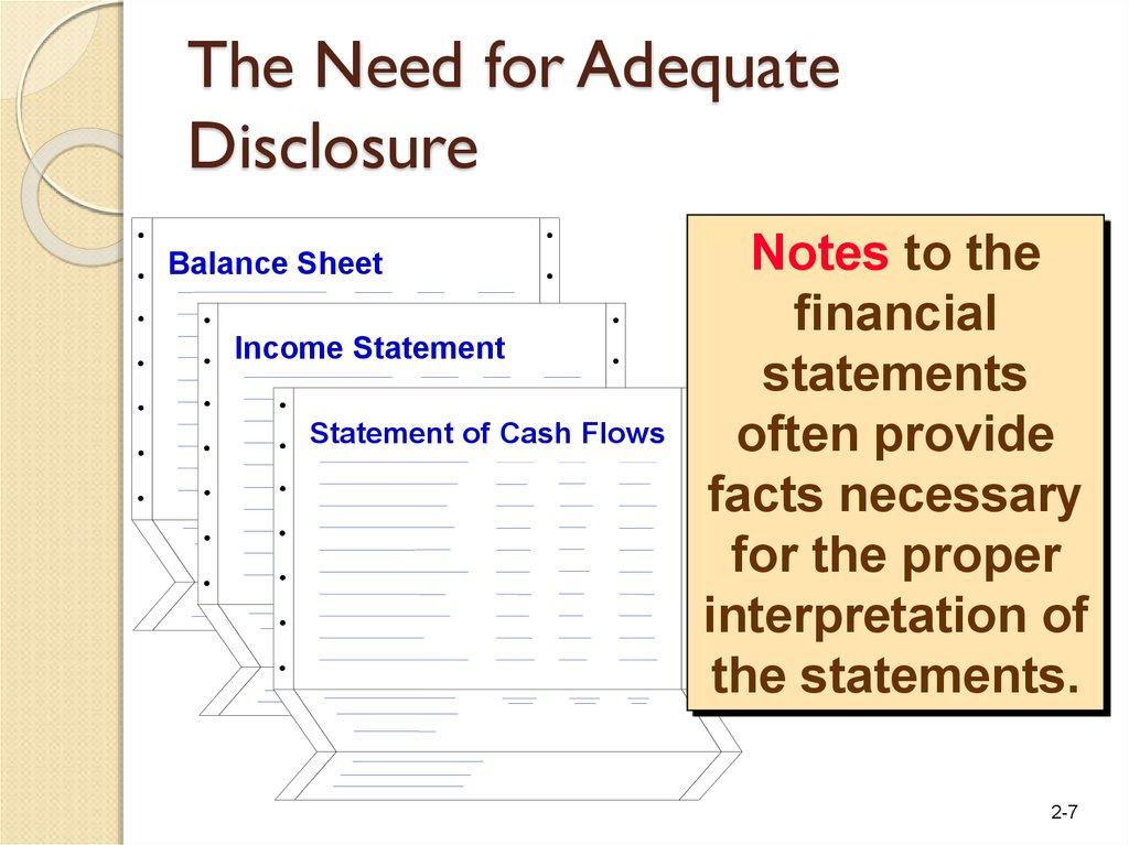 Basic financial statements - online presentation - proper income statement