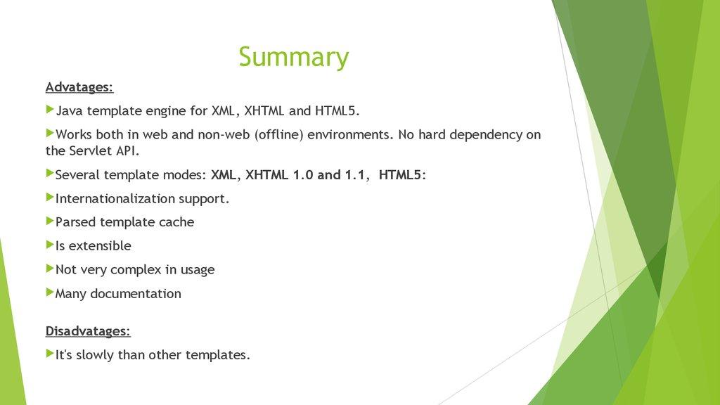 Spring teplates Thymeleaf  spring framework - презентация онлайн
