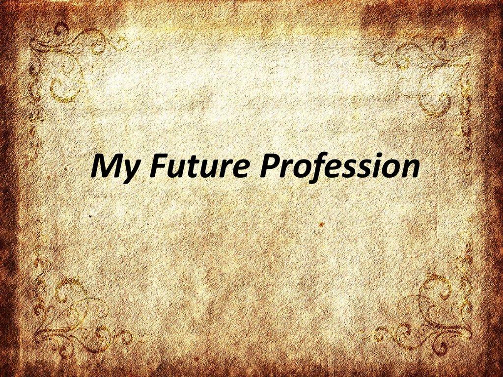 my future plans