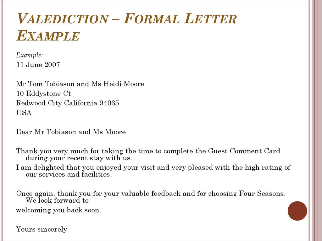 Formal letter writing examples Custom paper Service yyhomeworkmskv - formal letters example