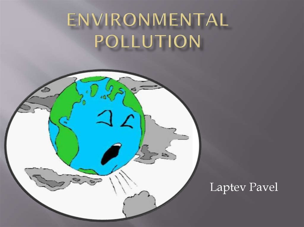 Environmental pollution - online presentation