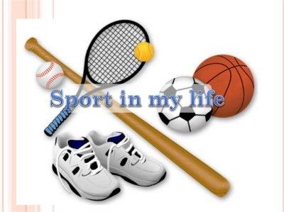 Sport in my life - презентация онлайн
