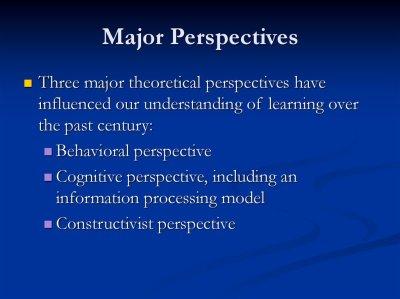 Theoretical perspectives for technology integration - презентация онлайн